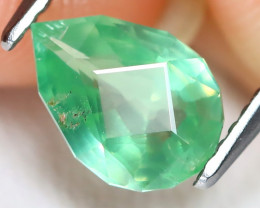 Kyanite 1.35Ct Master Cut Natural Untreated Green Kyanite B1909