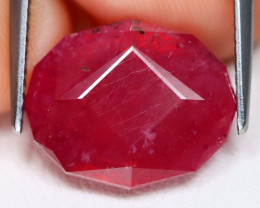 Red Ruby 10.13Ct Master Cut Pigeon Blood Red Ruby B1912