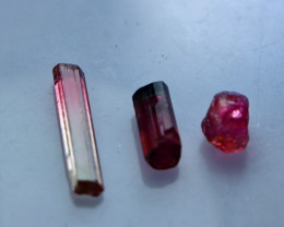 NR!!!! 4.40 CTs Natural & Unheated~ Pink Tourmaline Rough Lot