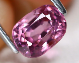Purple Spinel 1.34Ct Oval Cut Natural Burmese Purple Color Spinel A2016
