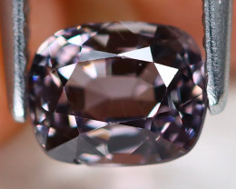 Purple Spinel 1.24Ct Octagon Cut Natural Burmese Purple Spinel C2006