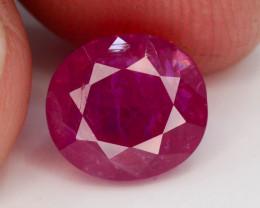 4.20 ct Natural Ruby ~ Jagdalek Afghanistan tz