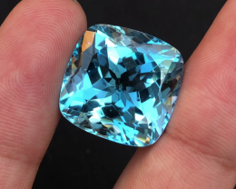Stunning 37.80 Ct Natural Blue Topaz Gemstone