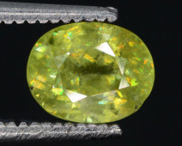 Rare AAA Astonishing Fire 1.15 ct Sphene