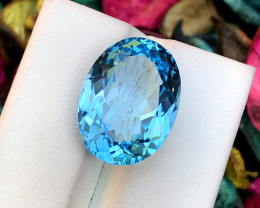 19.10 Carats Swiss Topaz Gemstone