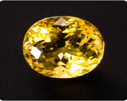 Heliodor 2.18 ct Madagascar GPC Lab