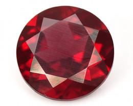 3.09 Cts Unheated Natural Cherry Pinkish Red Rhodolite Garnet Gemstone