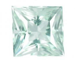 1.70 Cts Un Heated  Santa Maria Blue  Natural Aquamarine Loose Gemstone