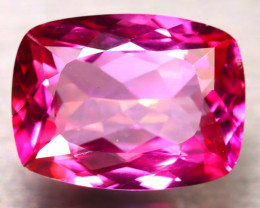 Pink Topaz 10.90Ct Natural IF Pink Topaz D2407/A35