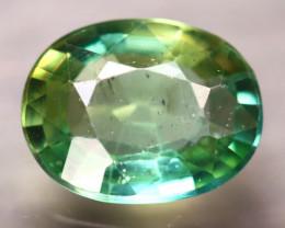Apatite 1.73Ct Natural Paraiba Green Color Apatite D2408/B44
