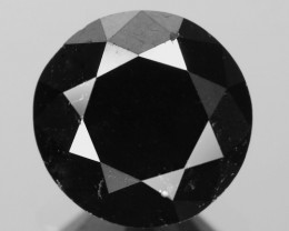 1.39 Cts Amazing Rare Fancy Black Color Natural Loose Diamonds