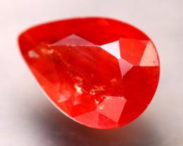 Sapphire 2.00Ct Natural Reddish Orange Sapphire D2415/B38