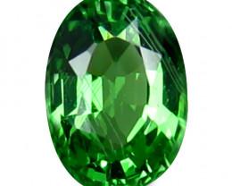 Tsavrite Garnet 0.60 Cts Vivid Green Step cut BGC1162