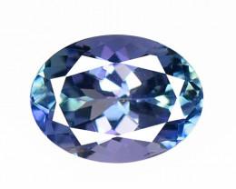 *NoReserve*Tanzanite 1.08 Cts Rare Violet Blue Color Natural Gemstone