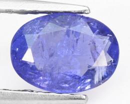*No Reserve* Tanzanite 0.88 Cts Violet Blue Color Natural Tanzanite Gemston