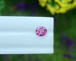 Spinel 0.46 Cts Red Step cut BGC1385