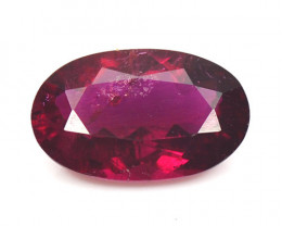 1.55 Cts Un Heated Pink Color Natural Rubellite  Loose Gemstone