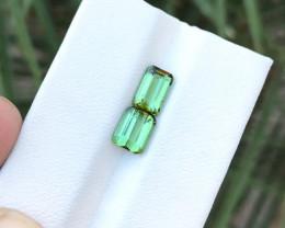 2.30 Ct Natural Green Transparent Tourmaline Gems Parcels