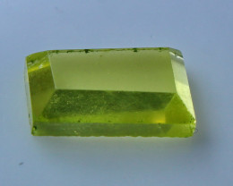 NR!!!! 6.30 CTs Natural & Unheated~ Yellow Quartz Faceted Stone