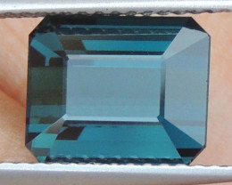 4.22cts, Cyan Blue Indicolite Tourmaline,