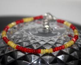 12 Crts Natural Ethiopian Welo Multi Color Opal Bracelet 262