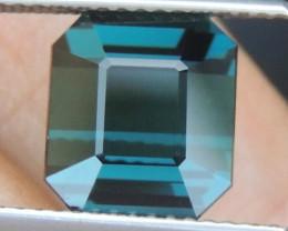 4.55cts, Cyan Blue Indicolite Tourmaline,