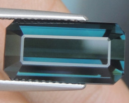 8.83cts, Cyan Blue Indicolite Tourmaline,