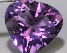 4.85 CTS MAGNIFICENT NATURAL PURPLE VIOLET AMETHYST NICE PEAR~CUT!!