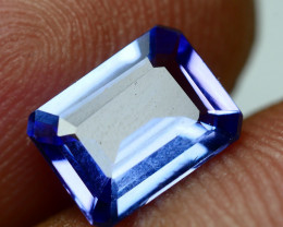 1.585 CRT WONDER BEST FULL TANZANITE TOP QUANLITY GEMSTONE -