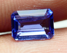 0.885 CRT WONDER BEST FULL TANZANITE TOP QUANLITY GEMSTONE -