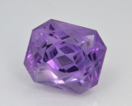 Natural Amethyst 12.07 Cts Top Quality with Precision Cut