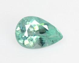 Paraiba Tourmaline 0.51 CTS Natural Blue Green Copper Bearing