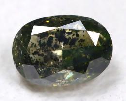 Salt And Pepper Diamond 0.19Ct Natural Untreated Fancy Diamond C2105