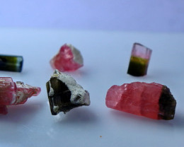 NR!!!! 37.70 CTs Natural & Unheated~ Pink Tourmaline Rough Lot