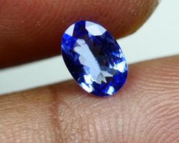 0.645CRT BEAUTY PURPLE BLUE TANZANITE -