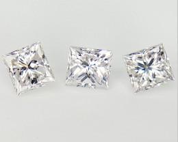 3/0.33 cts , Natural rarest Faint Pink Diamond , Loose off white Diamond