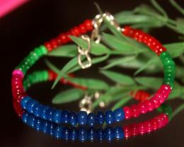 20 Crts Natural Ethiopian Welo Multi Color Opal Bracelet 325