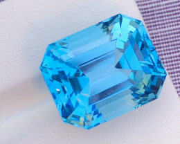 Topaz Blue Stunning 27.25 Ct Natural Blue Topaz Topaz Gemstone