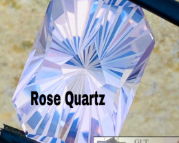 15ct - ROSE QUARZ-CEYLON- COLLECTOR QUALITY-MASTER CUT