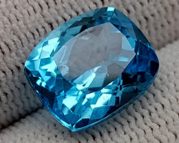 8.61CT BLUE TOPAZ  BEST QUALITY GEMSTONE IIGC05