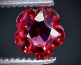 0.94 Crt  Grape Garnet Faceted Gemstone (Rk-33)