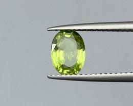 Natural Peridot 1.15 Cts Good Quality Gemstone