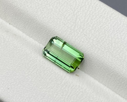 Natural Green Tourmaline 1.85 Cts Good Quality Gemstone
