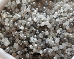 NATURAL  AUSTRALIAN WHITE DIAMOND  ROUGH --50CTWLOT,LOWEST PRICE