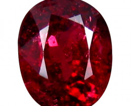 Spinel 0.73 Cts Red Step cut BGC804