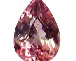 Tourmaline 0.89 Cts Pink Portuguese Cut BGC872