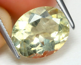 Bytownite 3.27Ct Oval Cut Natural Yellow Bytownite B2201