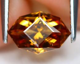 Orange Zircon 1.93Ct VS Master Cut Natural Orange Zircon B2205