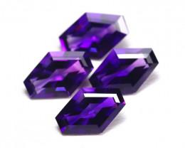 Uruguay Amethyst 5.59Ct Fancy Cut Natural Violet Amethyst Lot A2203