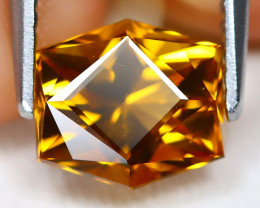 Madeira Citrine 1.65Ct VVS Master Cut Natural Orange Citrine A2208